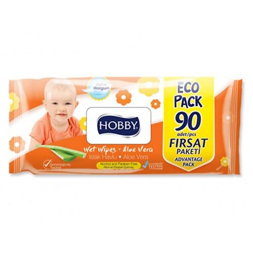 HOBBY ISLAK HAVLU 90 LI