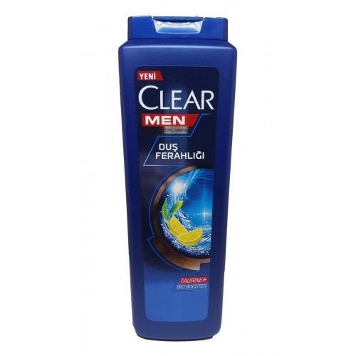CLEAR MEN SAMPUAN DUS FERAH YESIL CAY LIMON 550 ML