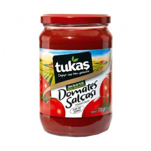 TUKAS DOMATES SALCASI CAM 700 GR