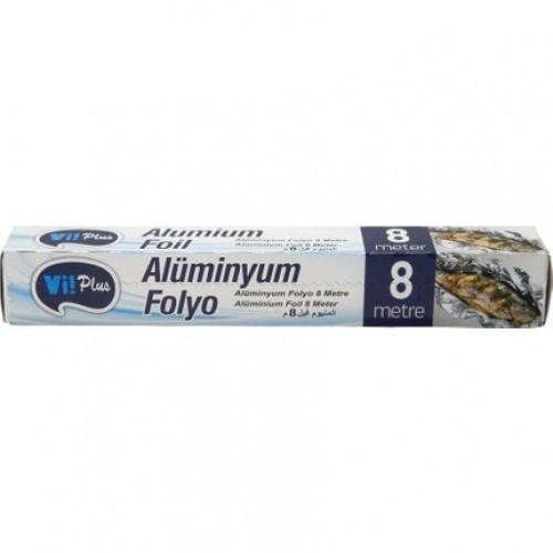 VIPLUS ALUMINYUM FOLYO 8 M